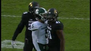 Michigan State vs Northwestern Football 2017 Highlights