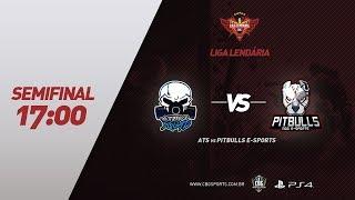 LIGA LENDÁRIA (PS4) - ATS VS Pitbulls NGG e-Sports - Semifinal