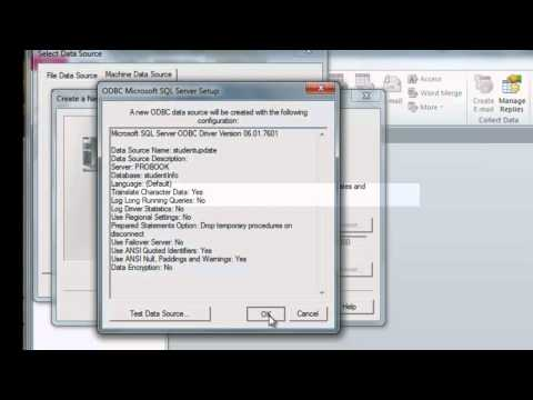 Linking MS Access to MS SQL Server 2008 R2