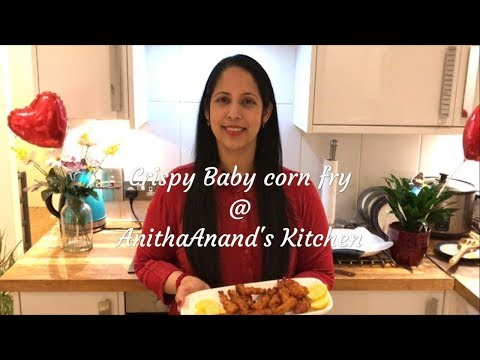 Crispy Baby Corn fry in 10 minutes.