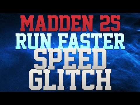 MADDEN 25 TIPS - HOW TO RUN FASTER IN MADDEN 25!!! -  SUPER SPEED GLITCH!!!