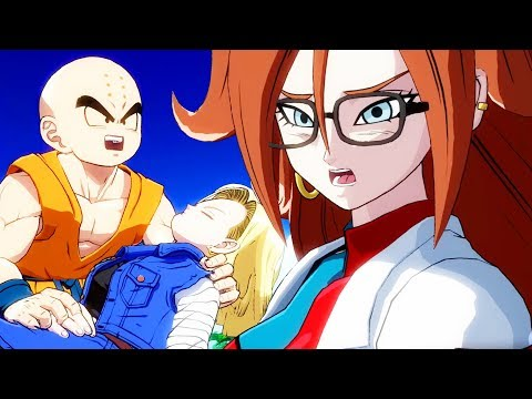 CAN ANDROID 21 BE TRUSTED? – Dragon Ball Fighterz Story English Dub - Part 3 | Pungence