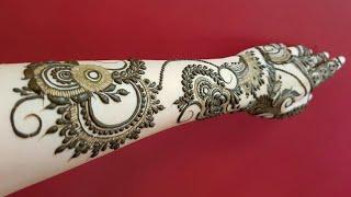 Classic And Modern Mixture Of Bridal Henna Design 2018 Heena Vahid
