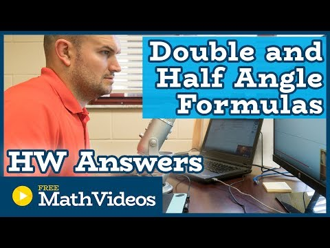 Hw - Answers - Double and Half Angle Formulas