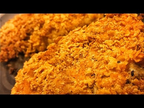 BUTTERMILK CHICKEN BAKED AND CRUSTED