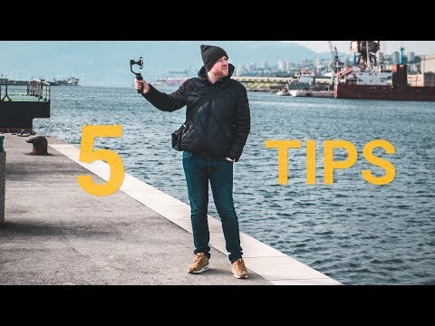 DJI OSMO MOBILE 2 |  5 tips for SMOOTHER videos in under 3 MINUTES !!!