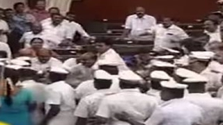 Tamil Nadu Assembly Live: Chairs Thrown, Mics Broken, House Adjourned till 1pm