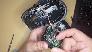 Doug tries to fix a double-clicking Logitech Mouse
