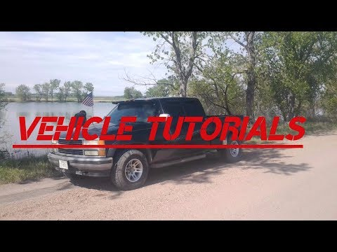 Chevy 350 Spark plug, wire, ignition coil, and distributor cap and rotor replacement