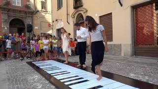 """Grazie Dani Ela per suonare con noi """"Heart and Soul"""". Musicando Festival di Busca."""