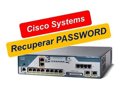 Recuperar password de acceso a router Cisco Systems.