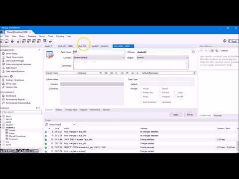 6. Using MySQL Command Line and MySQL Workbench