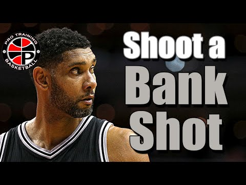 Simple Shooting Routine | How to Shoot a Bank Shot | Pro training Basketball