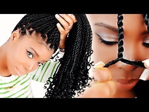 How To: Senegalese Twists FOR BEGINNERS! (Step By Step)