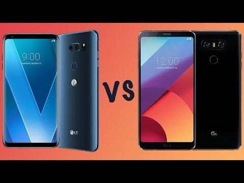 Consumer Comparison: Should you buy the LG G6 or LG V30
