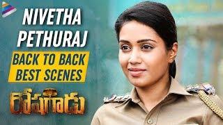 Nivetha Pethuraj Back to Back Best Scenes | Roshagadu 2019 Latest Telugu Movie | Vijay Antony