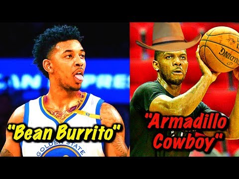 The Most RIDICULOUS NBA Nicknames That You've NEVER Heard Of