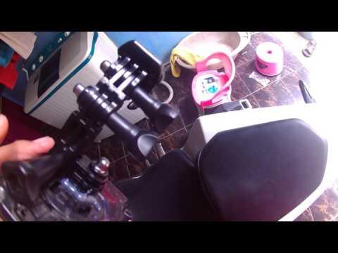 Modifikasi Holder HP Di Stang Motor