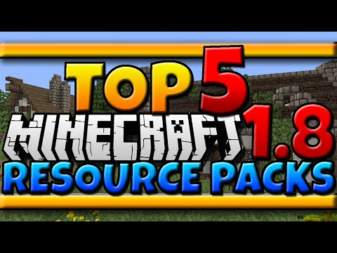 Minecraft 1.8: TOP 5 Resource Packs [Texture Packs + Download]