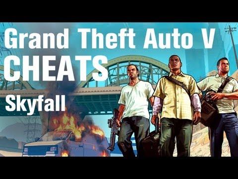 GTA 5 Cheats - Skyfall