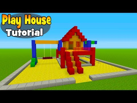 Minecraft Tutorial: How To Make A Play House House