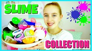 Slime Collection  - Store Bought Slime & Putty Collection and Review! - Millie and Chloe DIY