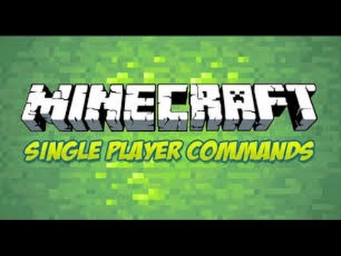 minecraft how to download single player commands 1.7.5