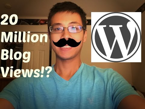 How I Got a Wordpress Blog to 20 Million Total Views From Zero | Part 1