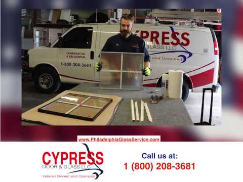 Cypress How To Replace an Insulated Glass Unit in a Window