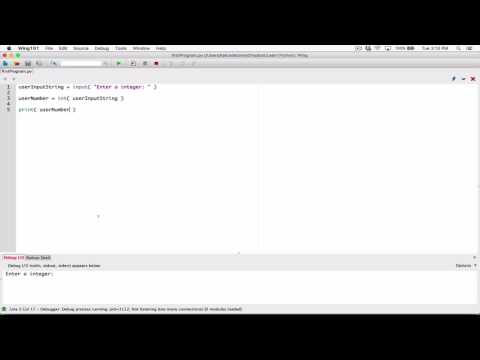 17. Reading numbers with the input() function - Learn Python
