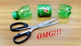 Plastic Bottle Craft Idea Best Out Of Waste Plastic Bott