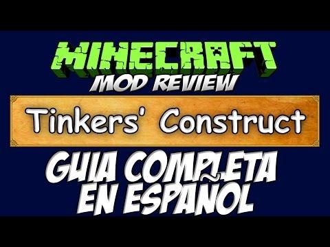TINKERS CONSTRUCT MOD - Guía completa en Español | Minecraft 1.6.4, 1.7.2, 1.7.10