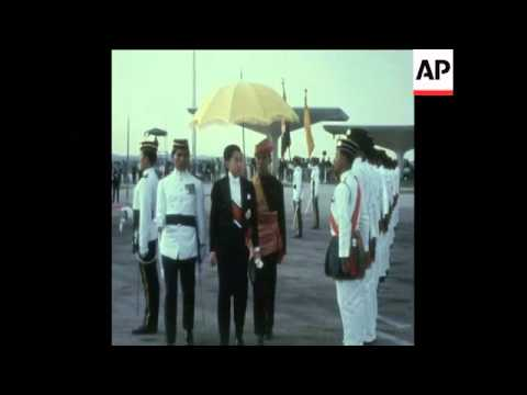 SYND 20-2-70 JAPANESE CROWN PRINCE ARRIVES IN MALAYSIA