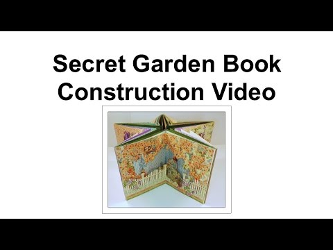 Secret Garden Book Construction Part 3- Flower Fairies Page