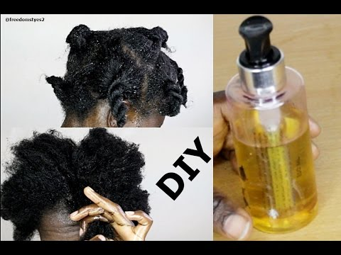 Do It Yoursef Hot Oil Treatment On Natural Hair