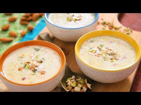 Sabudana Kheer - साबुदाण्याची खीर | Holi Special Sabudana Pudding By Archana - Upvas Ki Kheer