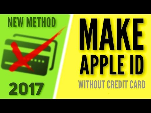 Make Apple ID without Credit Card - (New Method!)