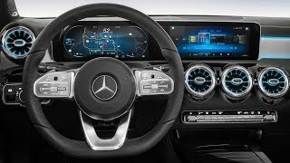Mercedes Next-Gen Cockpit – 2018 Mercedes A-Class Interior preview