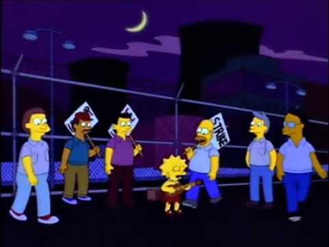 The Simpsons - Power Plant Strike