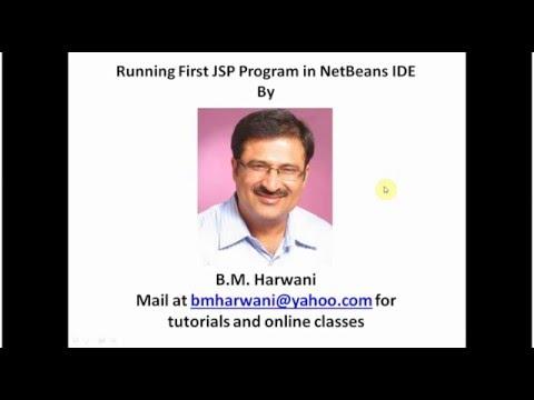 Running First JSP Program In NetBeans (In English)