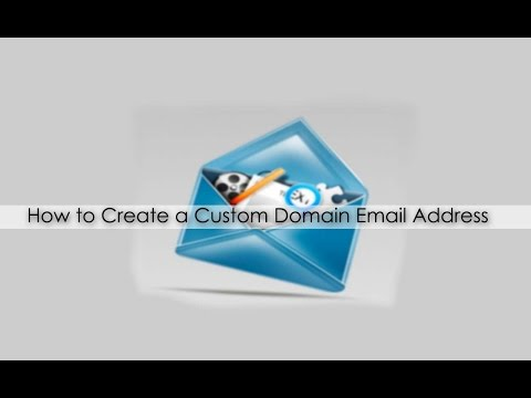 How to set up a personalized email address?