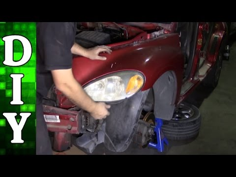 How to Remove and Replace a Headlight on a Chrysler PT Cruiser