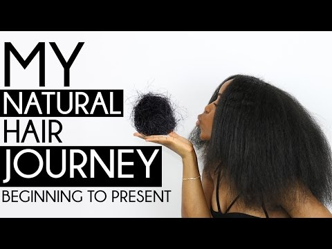 Natural Hair Journey | No Big Chop