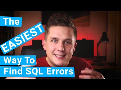 The EASIEST Way To Find SQL Query Errors