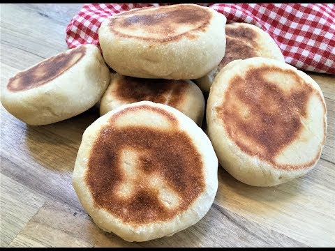 HOW TO MAKE 'BAZLAMA' AT HOME - Turkish Flat Bread