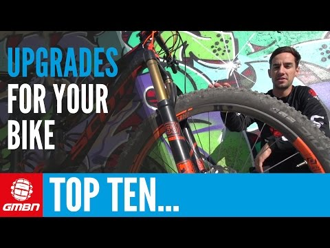 10 Best Ways To Upgrade Your Bike | Mountain Bike Set Up