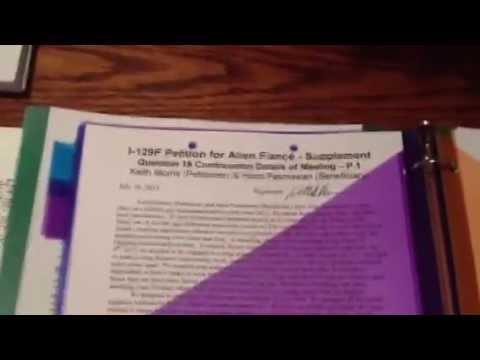 K1 Visa I-129F Packet for Gay couple - K1 Visa Approved