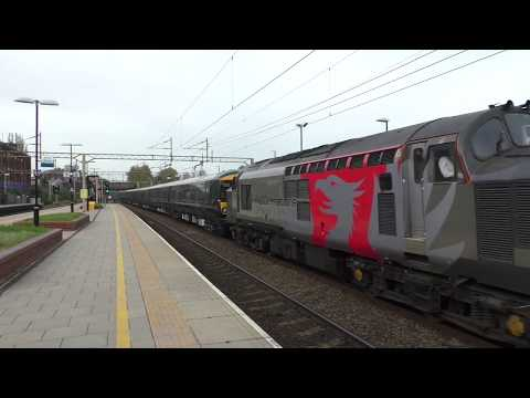 (HD) Rail Operations Group 37884 drags brand new GWR 387's at Watford Junction - 31/10/17