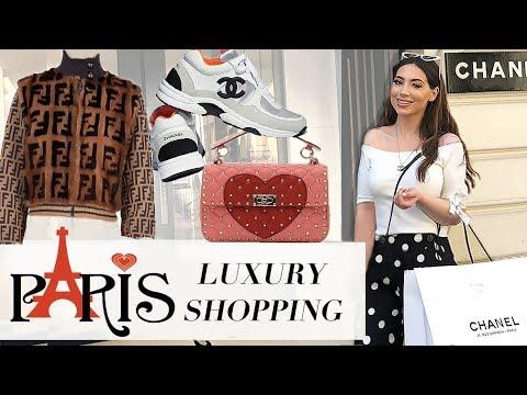 Birthday Luxury Shopping In PARIS- Chanel, Louis Vuiton, Dior, Fendi & More