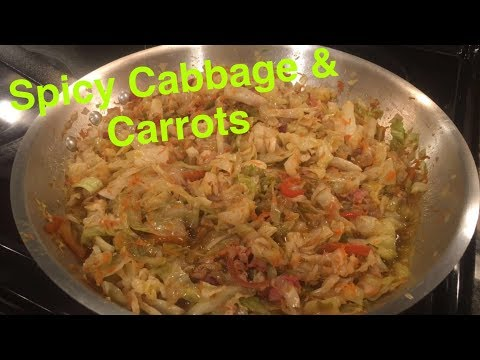 How to Make: Spicy Cabbage and Carrots